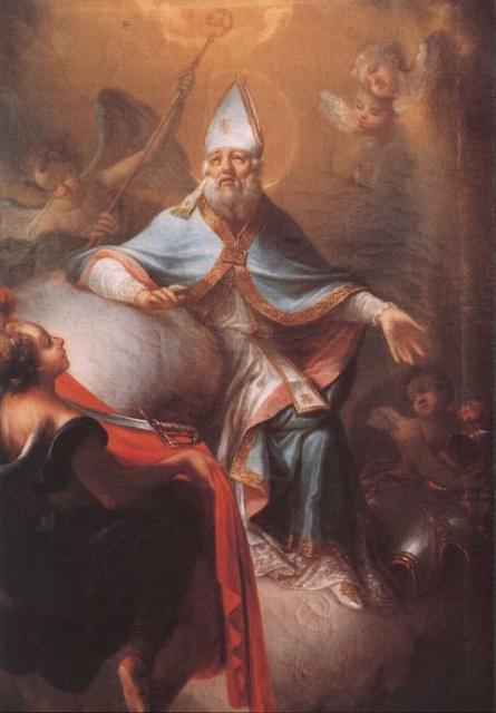 H. Martinus in glory