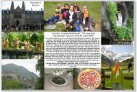 Collage jongerenbedevaart Lourdes 2008