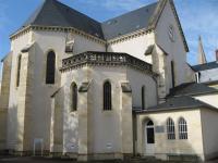 de Kapel waar Bernadette in schrijn ligt